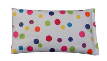 Rectangular Rice Bag with Polka Dots Print