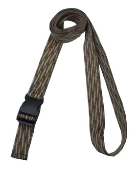 1.5 Inches Wide Woodland Camo Traction Belt with Fast Release Buckle (8 Ft - 12 Ft Long)