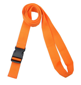 1.5 Inches Wide Orange Traction Belt with Fast Release Buckle (8 Ft - 12 Ft Long)