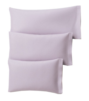 Rectangular Rice Bag with Light Purple Vinyl