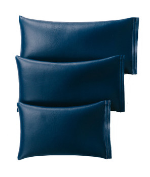 Rectangular Rice Bag with Midnight Blue Vinyl