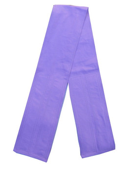 Lavender Fabric Belt with Hook and Loop Closure (4 inches wide)