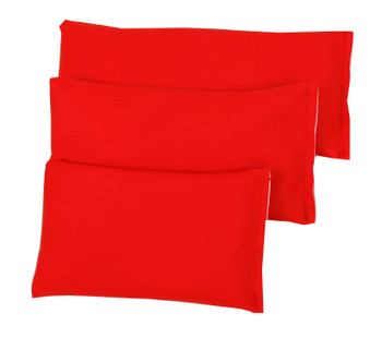 Rectangular Rice Bag with Red Vinyl (Soft)