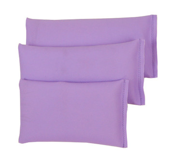 Rectangular Rice Bag with Lilac Vinyl (Soft)