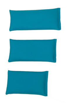 Rectangular Rice Bag with Teal Vinyl (Soft)