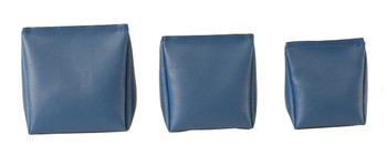 Wedge Rice Bag with Denim Blue Vinyl