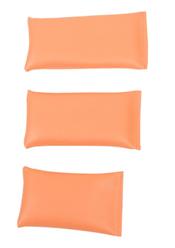 Rectangular Rice Bag with Peach Vinyl