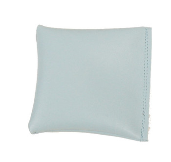 Square Rice Bag with Light Blue Vinyl