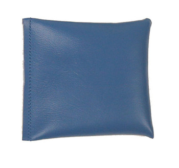 Square Rice Bag with Denim Blue Vinyl