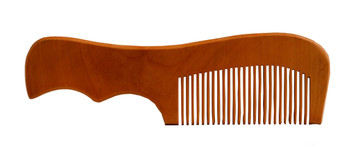 Wooden Comb with Curve Handle