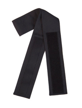 Black Velcro Fabric Belt (3 inches wide and 40 to 48 inches long; with 2 inches wide and 11 inches long Velcro)