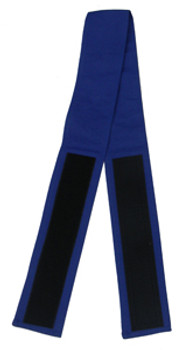 "3"" Velcro Belt in Blue (Back View)"