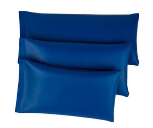 Rectangular Rice Bag with Blue Vinyl