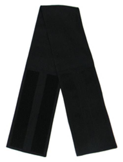 Black Velcro Fabric Belts - 5 Inches