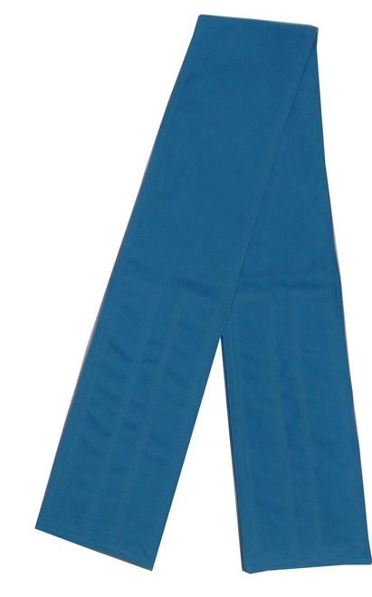 Teal Blue Velcro Fabric Belt