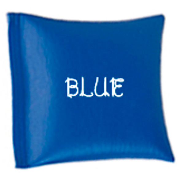 Square Rice Bag in Vinyl - Blue