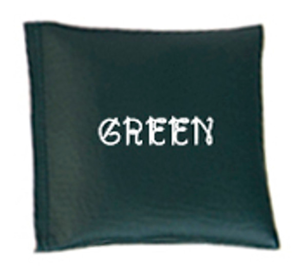 Square Rice Bag in Vinyl - Green