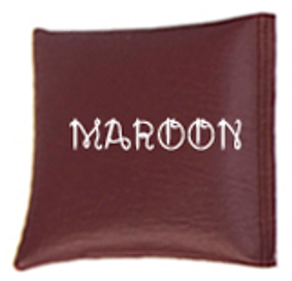 Square Rice Bag in Vinyl - Maroon
