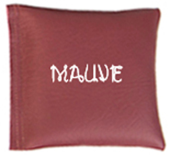 Square Rice Bag in Mauve Vinyl
