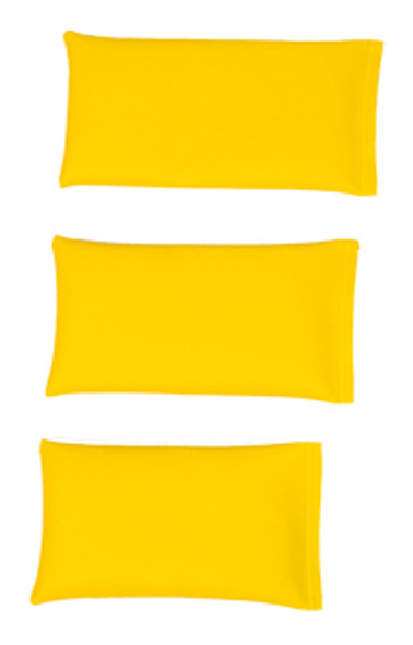 Rectangular Rice Bag with Yellow Vinyl