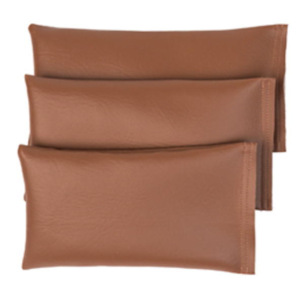 Rectangular Rice Bag with Light Brown Vinyl