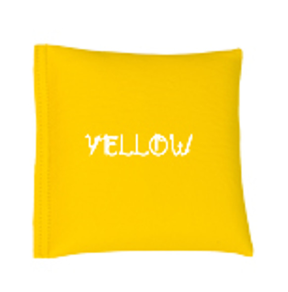 Square Rice Bag in Vinyl - Yellow