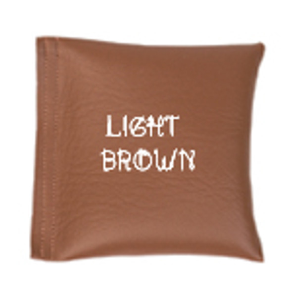Square Rice Bag in Vinyl - Light Brown