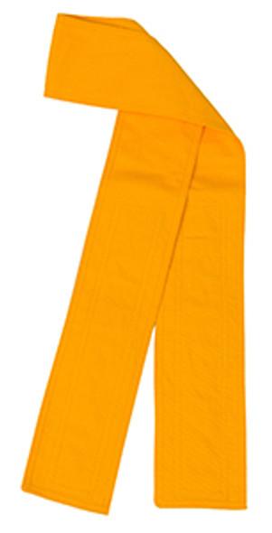 Yellow Velcro Fabric Belt - 3 inches