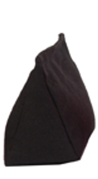 Wedge Rice Bag with Black Cotton Fabric and Rice