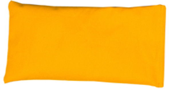 Rectangular Rice Bag with Yellow Cotton Fabric