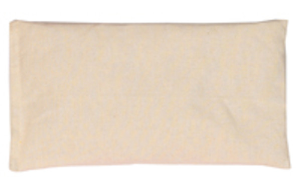 Rectangular Rice Bag with Muslin (Unbleached/Cream) Cotton Fabric