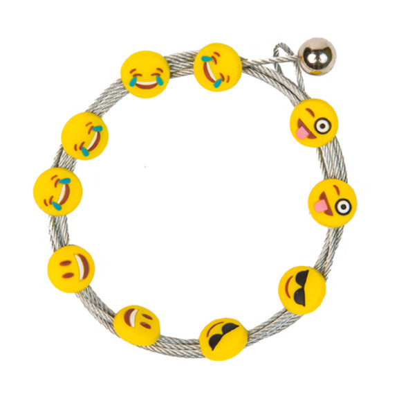 Emoji Mr. Cool and Happy Face Photo Cable