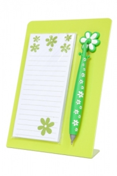 Note Station in Lime Green