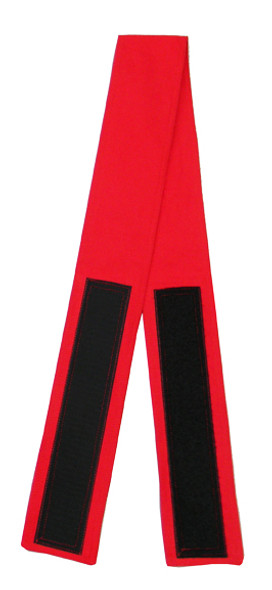 Red Velcro Fabric Belt