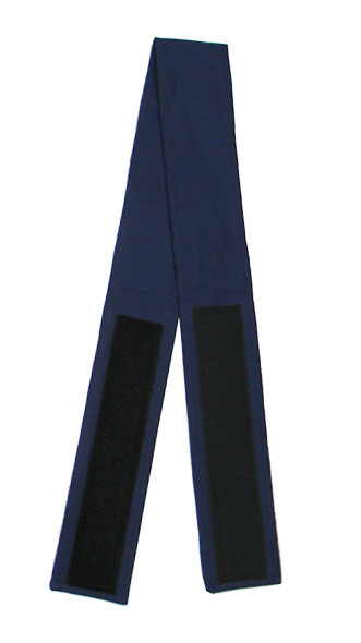 Navy Blue Velcro Fabric Belt