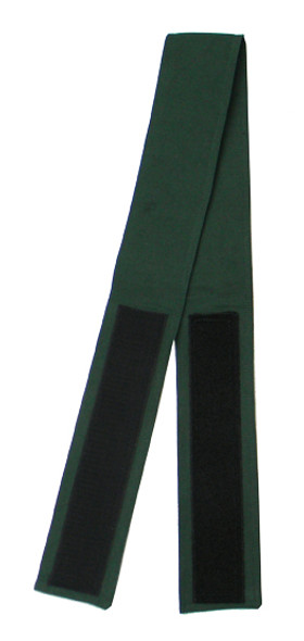Hunter Green (Light) Velcro Fabric Belt