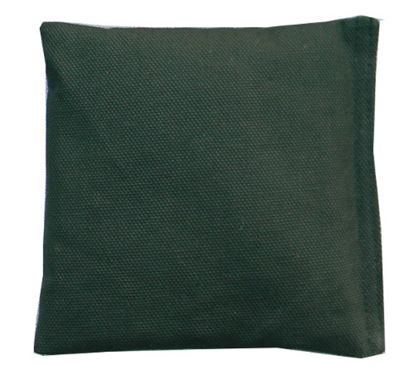Hunter Green (Light) Square Rice Bag in Cotton Fabric