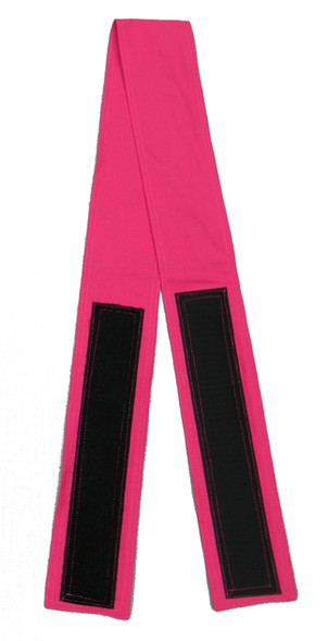 Fuchsia Velcro Fabric Belt