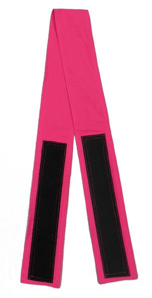 Fuchsia Velcro Fabric Belt