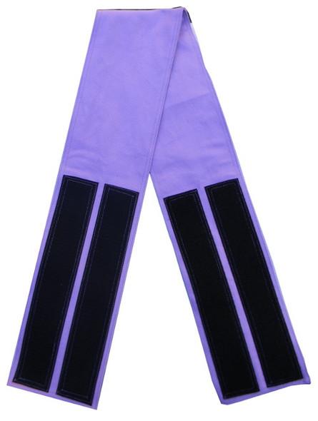 Lavender Velcro Fabric Belt