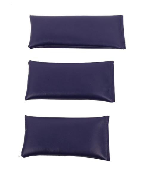 Rectangular Rice Bag with Purple Vinyl