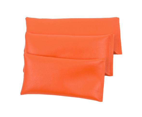 Rectangular Rice Bag with Orange Vinyl
