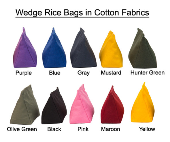 Rice Bag with Cotton Fabric and Rice