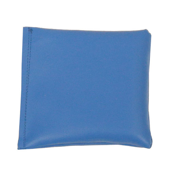 Square Rice Bag in Baby Blue Vinyl