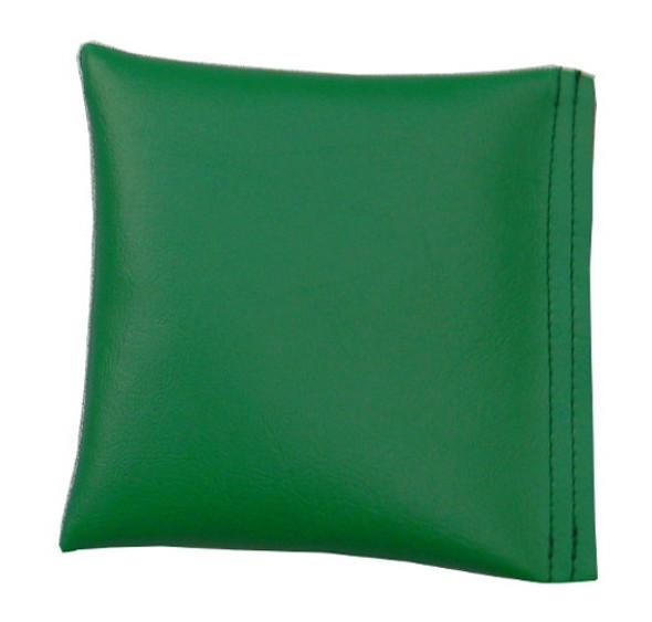 Square Rice Bag in Green Vinyl