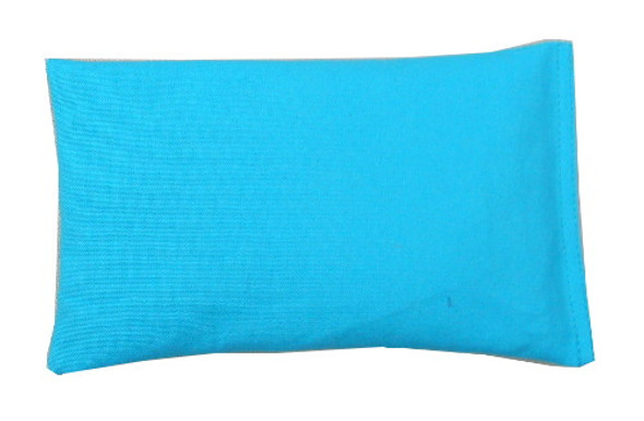Rectangular Rice Bag with Sky Blue Fabric