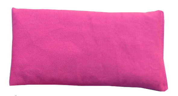 Rectangular Rice Bag with Fuchsia Fabric