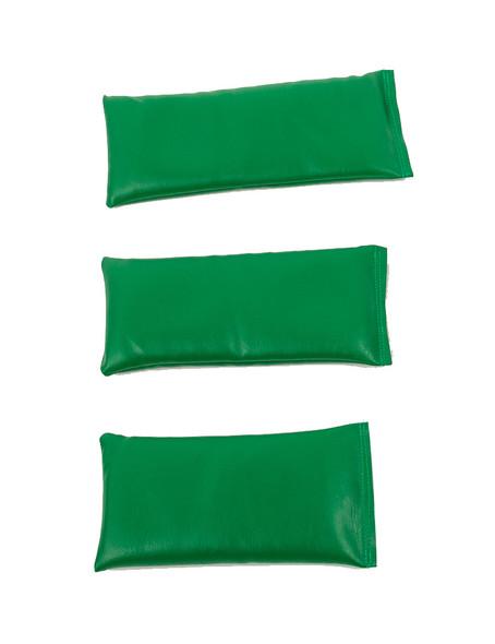 Rectangular Rice Bag with Green Vinyl