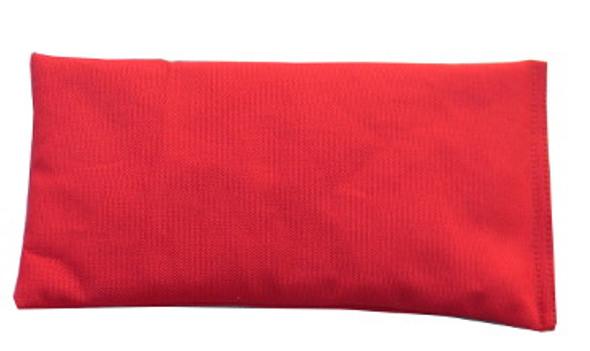 Rectangular Rice Bag with Red Cotton Fabric