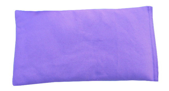 Rectangular Rice Bag with Lavender Fabric